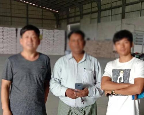 客户采购盛昌农业设备